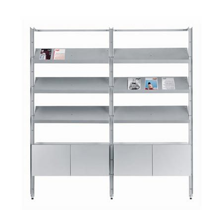 Armida shelving system by Desalto | Modular structural systems
