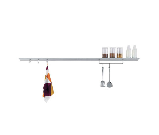 Hang shelving system by Desalto | Kitchen furniture