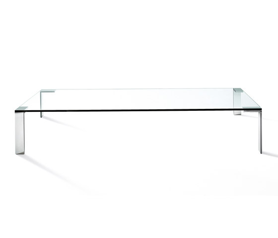 Liko Glass low table by Desalto | Lounge tables