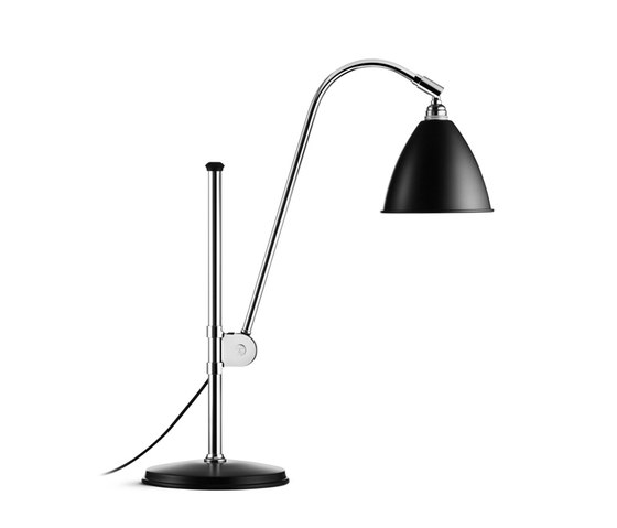 Bestlite BL1 Table lamp | Black/Chrome by GUBI | Task lights