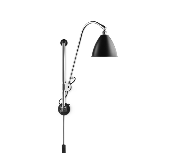 Bestlite BL5 Wall lamp | Black/Chrome by GUBI | Task lights