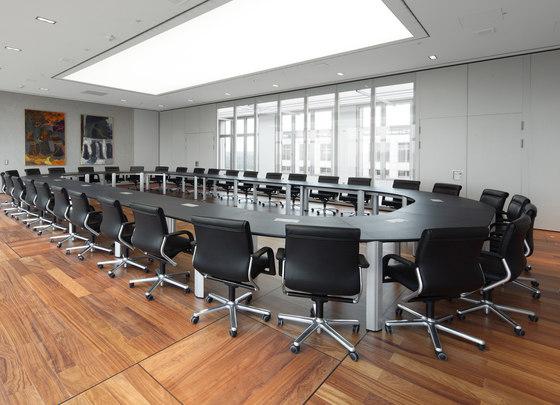 Segno Konferenztisch von RENZ | Konferenztischanlagen