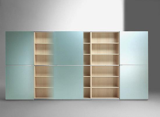 Inline storage system by RENZ | Cabinets
