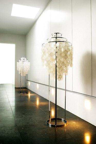 Fun Mother of Pearl 1STM | Floor lamp by Verpan | Free-standing lights