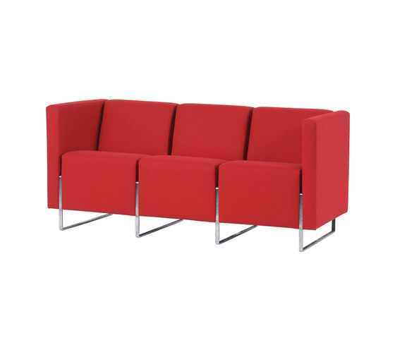 Domino Lounge 3-Seater by Dietiker | Lounge sofas