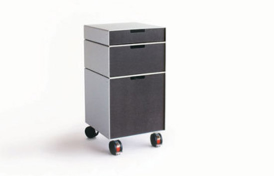 Container 431 [System Furniture T71] by Patrick Lindon | Pedestals
