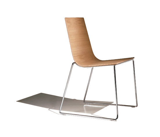 Lineal SI 0582 by Andreu World | Multipurpose chairs
