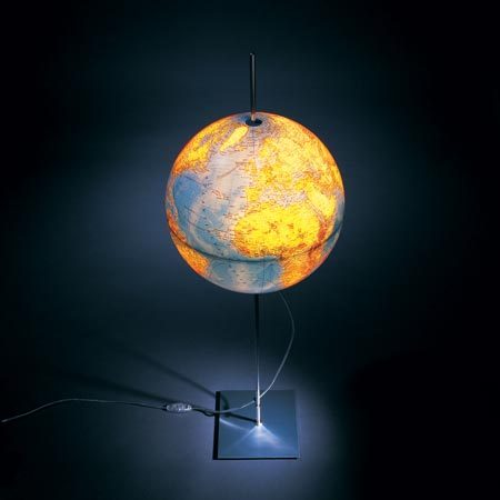 Globe Earth Table Lights From Absolut