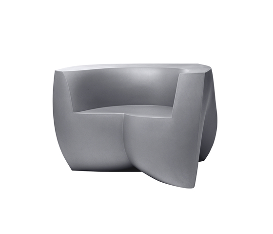 Easy Chair | Model 1020 | Silver Grey von Heller | Gartensessel
