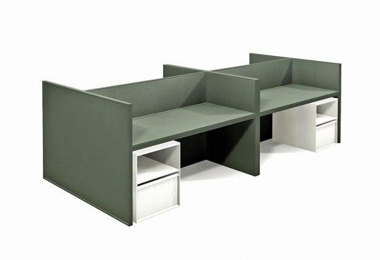 Desk de BULO | Systèmes de tables de bureau