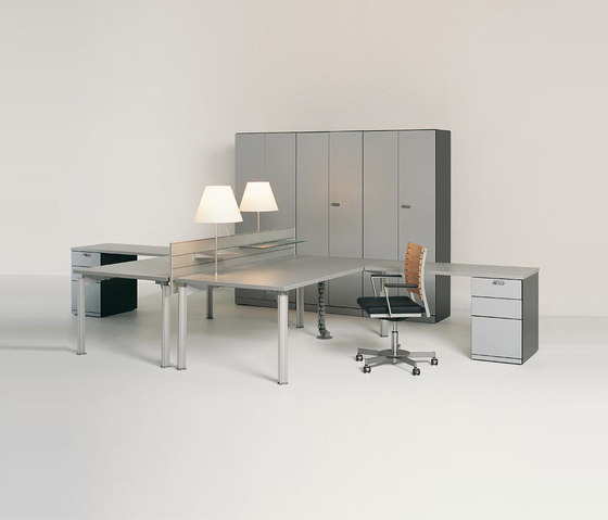 H2O by BULO | Desking systems
