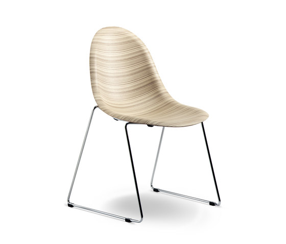 Luna sled 1314-20 by Plank | Multipurpose chairs
