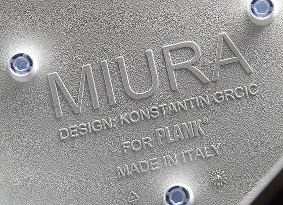 Miura stool 8200-00 by Plank | Bar stools