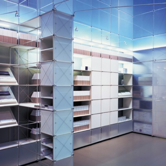 constructiv CLIC de Burkhardt Leitner | Separación de ambientes