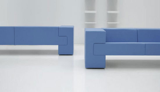 Space Sofa by +Halle   Sofas