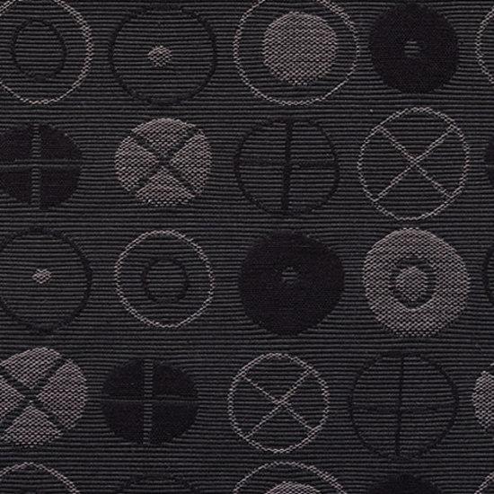 Circles 005 Charcoal von Maharam | Stoffbezüge