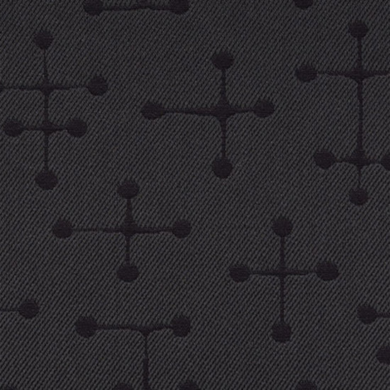 Small Dot Pattern 005 Charcoal by Maharam | Fabrics