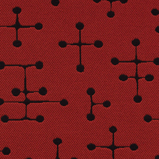 Small Dot Pattern 007 Red by Maharam | Fabrics