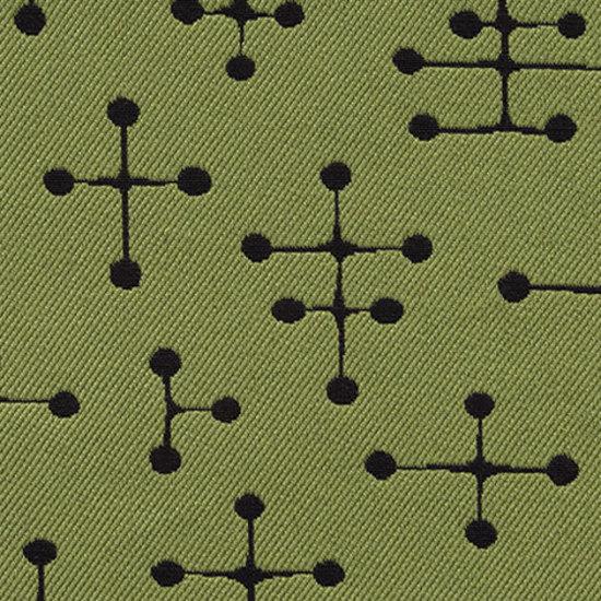 Small Dot Pattern 009 Green von Maharam | Stoffbezüge