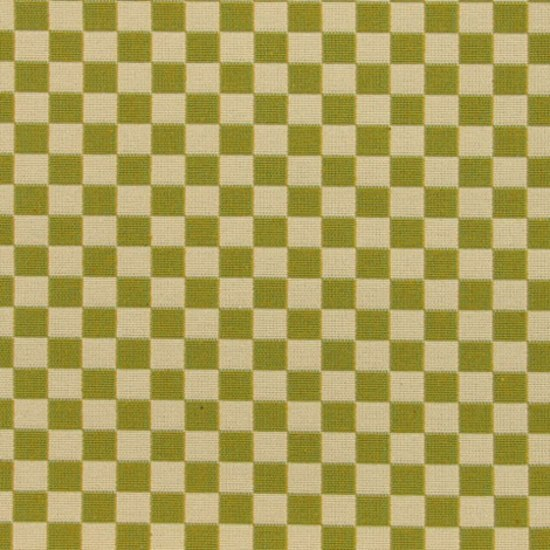 Checker 001 Emerald Light/Ivory von Maharam | Stoffbezüge