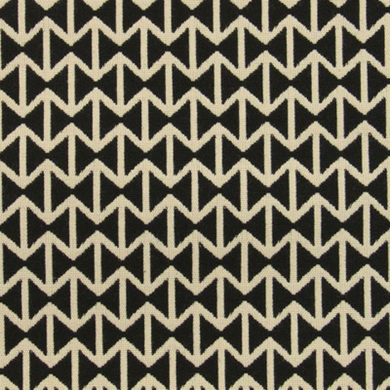 Double Triangles 001 Black/White de Maharam | Tissus