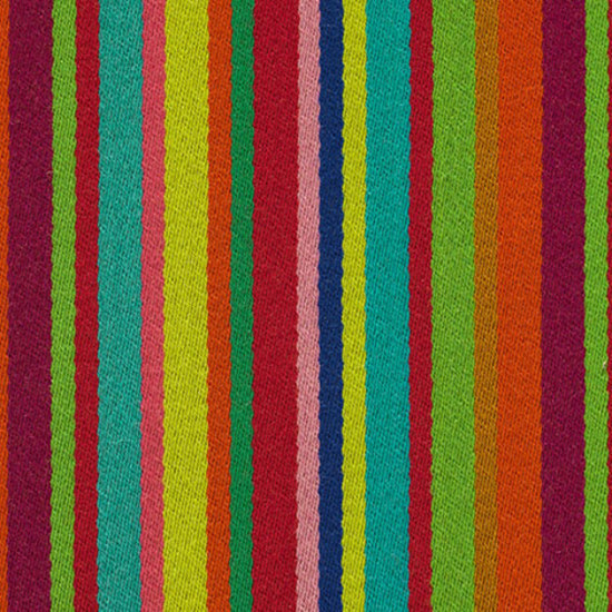 Millerstripe 001 Multicoloured Bright de Maharam | Tissus