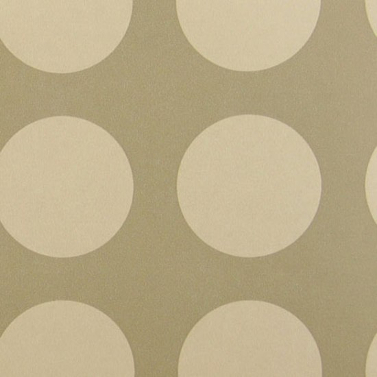 Circles 007 Raw Umber White On Raw Umber by Maharam | Wall coverings / wallpapers