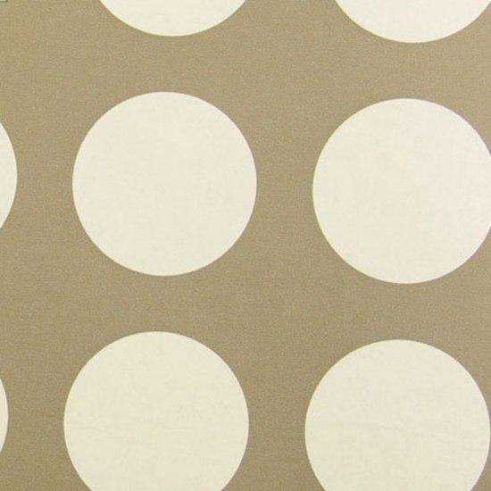 Circles 006 White On Raw Umber de Maharam   Revêtements muraux / papiers peint