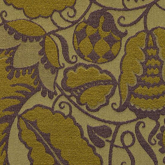 Blumen 002 Mustard von Maharam   Möbelbezugstoffe