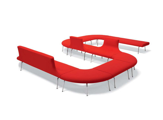 Orbit sofa system by OFFECCT | Waiting area benches