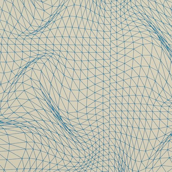 Flexuous Blueline wallcovering di Wolf-Gordon | Carta da parati / carta da parati