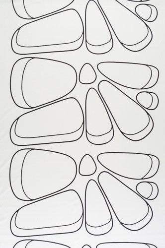 Amiraali 191 interior fabric by Marimekko | Curtain fabrics