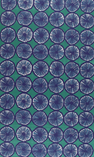 Appelsiini 640 interior fabric by Marimekko | Curtain fabrics