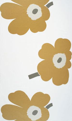 Juhla Unikko 127 interior fabric by Marimekko   Curtain fabrics