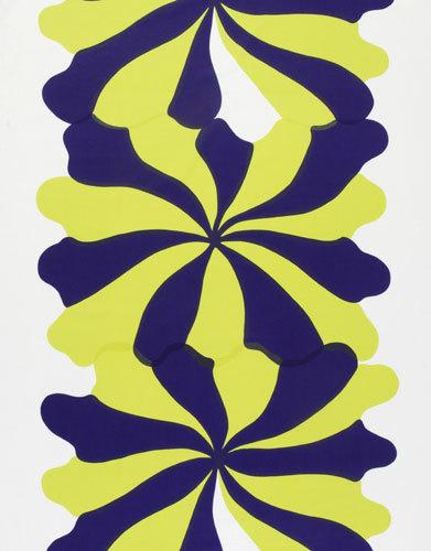 Meduusa green interior fabric di Marimekko | Tessuti tende