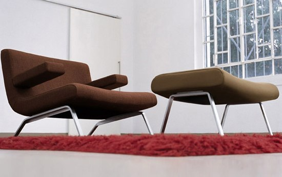 Bent armchair by Dema | Armchairs