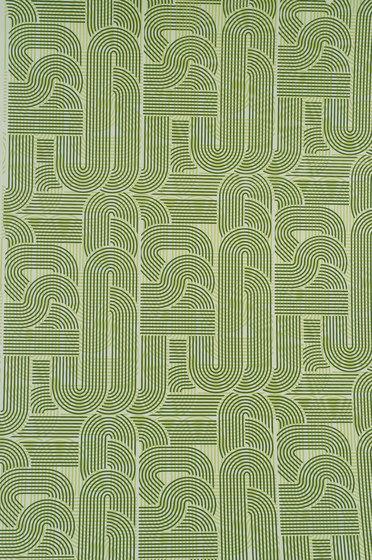 Circuit basil wallpaper de Flavor Paper | Revestimientos de paredes / papeles pintados
