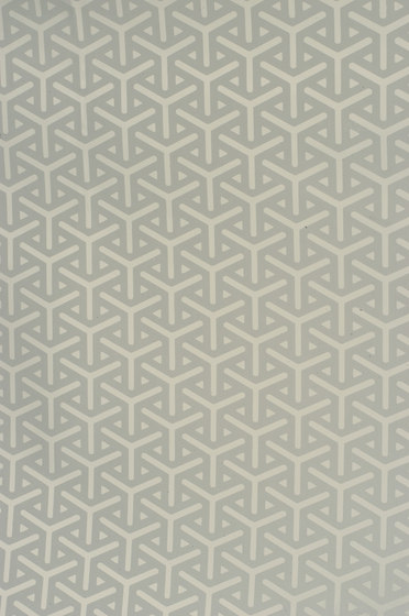 Vapor silver wallpaper by Flavor Paper | Wall coverings / wallpapers