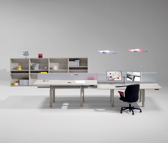 iSatelliti S/200.90 by UniFor | Desking systems