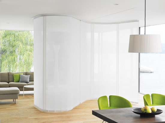 Panel Glide System Silent Gliss 2730 Flex by Silent Gliss | Room dividers