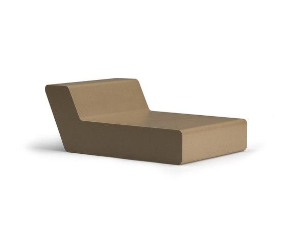 Matrass seat 75 by Quinze & Milan | Sun loungers