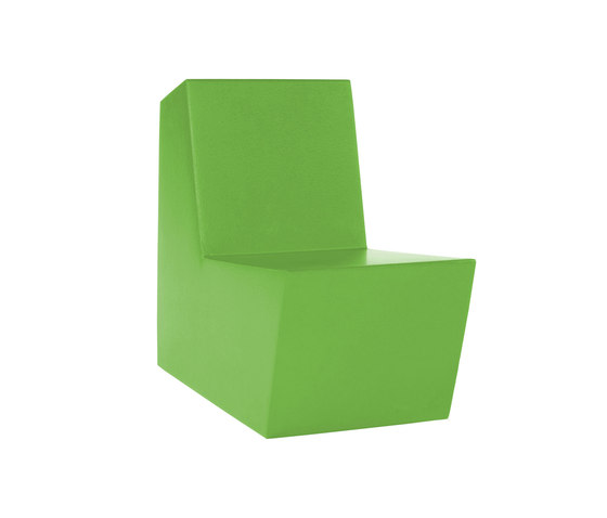 Primary Solo green by Quinze & Milan | Armchairs