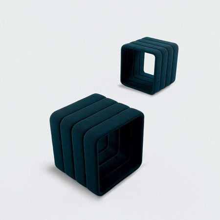 Frame by Paola Lenti | Garden stools