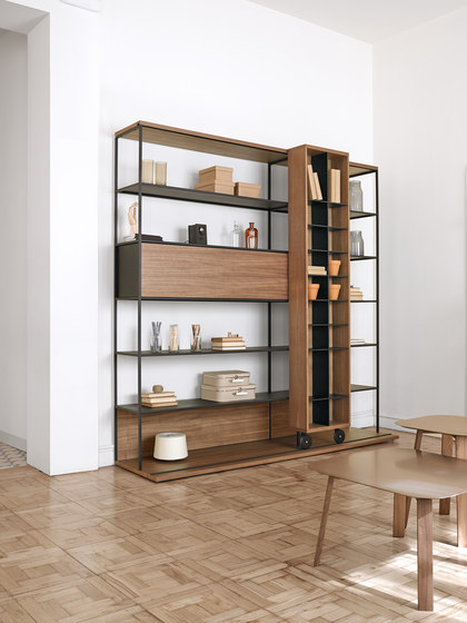 Literatura Open by Punt Mobles   Shelving