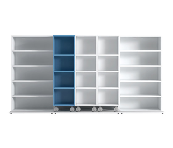 Literatura Classic by Punt Mobles | Office shelving systems