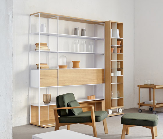 Literatura Open by Punt Mobles | Shelving systems