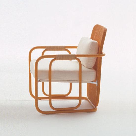 Rattan Mon Amour by Bonacina Pierantonio | Garden armchairs