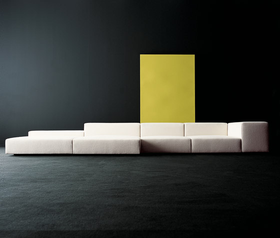 Extra Wall modular sofa system by Living Divani | Modular seating systems