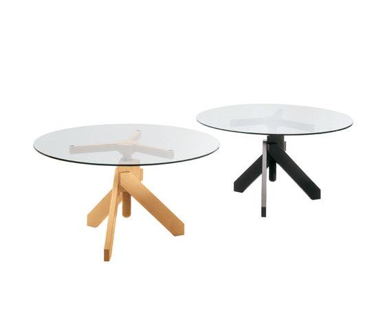Vidun di de padova cavalletti per tavoli architonic - Cavalletti in legno per tavoli ...