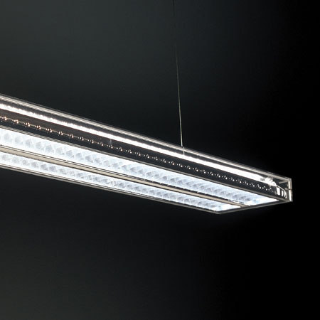 Ice by Dark at night | Pendant strip lights